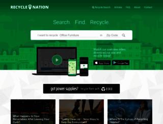 recyclenation.com screenshot