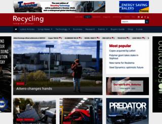 recyclinginternational.com screenshot
