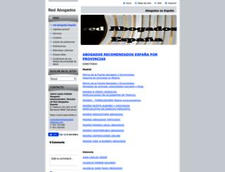 red-abogados-espana.webnode.es screenshot