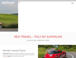 red-travel.com screenshot