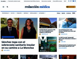 redaccionmedica.com screenshot