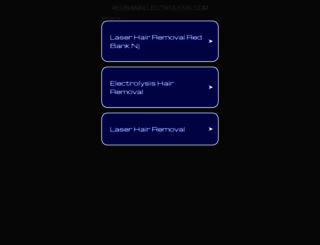 redbankelectrolysis.com screenshot