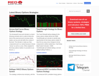 redbinaryoptions.com screenshot