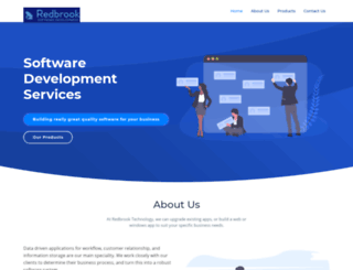redbrooktech.com screenshot