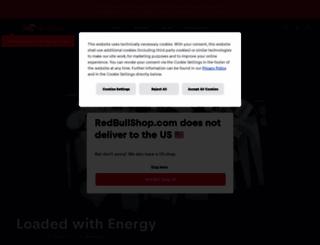 redbullcollection.com screenshot