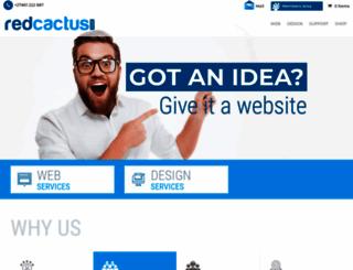 redcactus.co.za screenshot