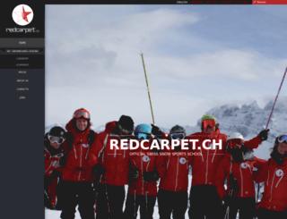 redcarpet.ch screenshot