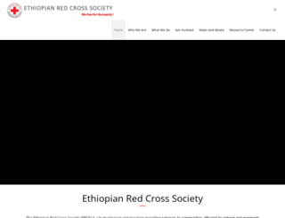 redcrosseth.org screenshot