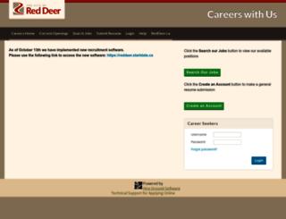 reddeer.hgcareers.com screenshot