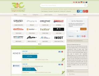 redeemacoupon.com screenshot