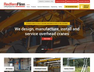 redfernflinncranes.com.au screenshot