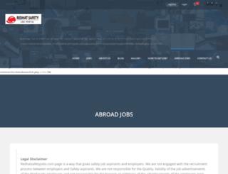 redhatsafetyjobs.com screenshot