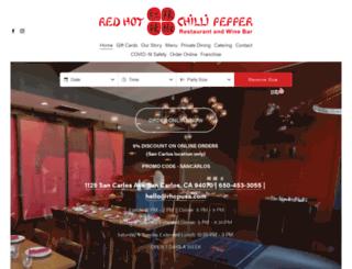 redhotchillipepperca.com screenshot