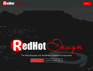 redhotdesign.co.za screenshot