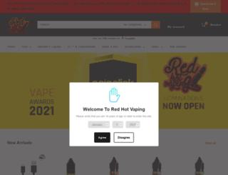 redhotvaping.co.uk screenshot