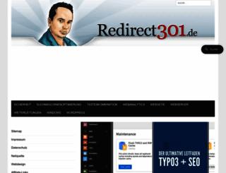 redirect301.de screenshot