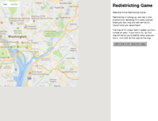 redistricting.greatergreaterwashington.org screenshot