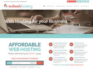rediwebhosting.co.uk screenshot