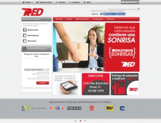 redlogistic.com screenshot