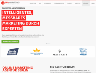 redmarketing.de screenshot