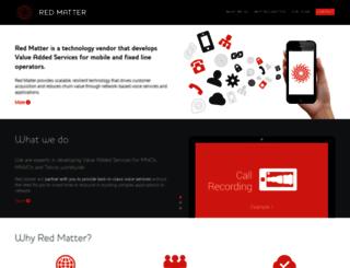 redmatter.com screenshot