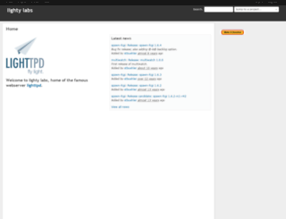 redmine.lighttpd.net screenshot