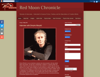 redmoonchronicle.blogspot.dk screenshot