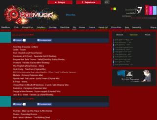 redmusic.pl screenshot