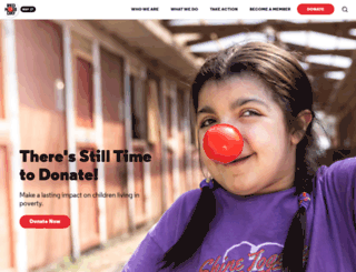 rednosedayusa.org screenshot