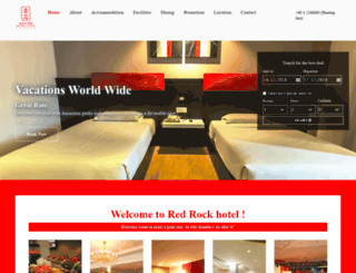 redrockhotel-pg.com screenshot