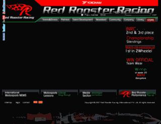 redroosterracing.com screenshot