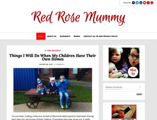 redrosemummy.com screenshot