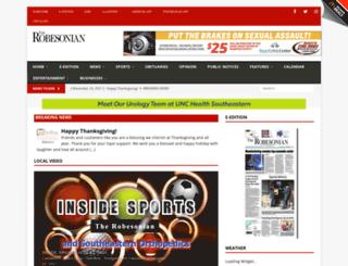 redspringscitizen.com screenshot