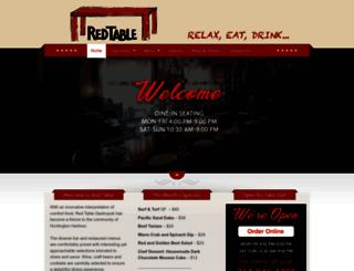 redtablerestaurants.com screenshot