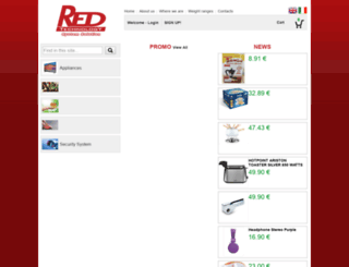 redtechnologyshop.com screenshot