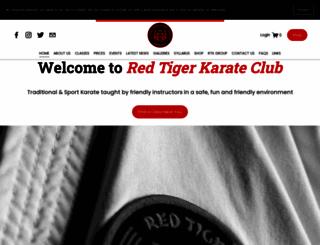 redtigerkarateclub.co.uk screenshot