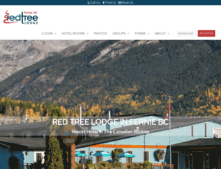 redtreebookings.com screenshot