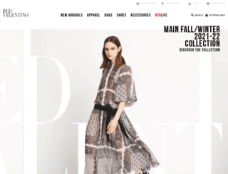 redvalentino.com screenshot