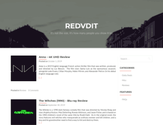 redvdit.com screenshot