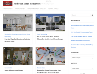 redwinestainremovers.com screenshot