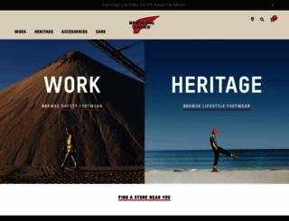 redwingshoes.com screenshot