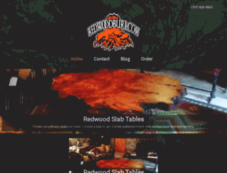 redwoodburl.com screenshot