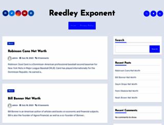reedleyexponent.com screenshot