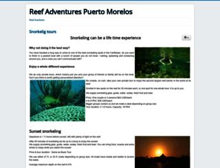 reefadventurespuertomorelos.com screenshot