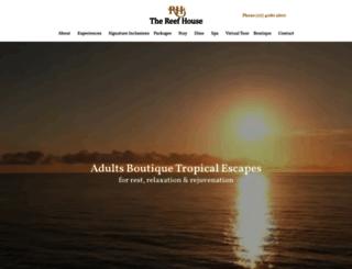 reefhouse.com.au screenshot