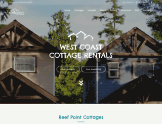 reefpointcottages.com screenshot