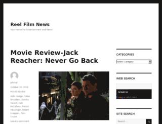 reelfilmnews.com screenshot