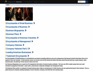 referenceforbusiness.com screenshot