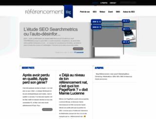 referencement-blog.net screenshot