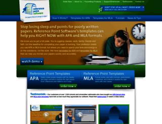 referencepointsoftware.com screenshot